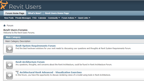 Revit Users Discussion Board